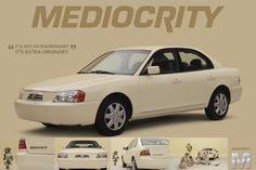 Subaru Mediocrity Car