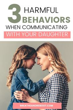Build trust and healthy communication with your daughter by avoiding these 3 toxic behaviors. Raising a daughter is one of the most rewarding gifts of parenting, but the mother-daughter relationship can be hard to navigate. Creating a healthy mother-daughter relationship requires healthy communication. If you're a mom that wants to build a strong relationship with your daughter, check out this post. #mothersanddaughters #freeprintable #healthyrelationnships #strongdaughters #raisingdaughters Mom Quotes From Daughter, Mother Daughter Relationships, Relationship Breakdown, Strong Relationship, Raising Daughters, Raising Kids, Kids And Parenting, Parenting Hacks, Child Discipline