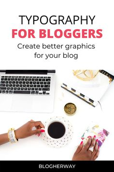 Looking to take your blog graphics to the next level. Fonts play a major role in creating graphics for your blog. Check out this Typography course review of Designing with Typography by Kimi Kinsey. #blogtips #typography Make Blog, How To Start A Blog, Blog Planning, Blog Topics, Branding Your Business, Online Entrepreneur, Blogger Tips, Blogging For Beginners