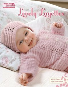 Leisure Arts - Lovely Layettes eBook, $7.99 (http://www.leisurearts.com/products/lovely-layettes-digital-download.html)