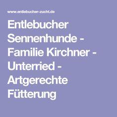 Entlebucher Sennenhunde - Familie Kirchner - Unterried - Artgerechte Fütterung Entlebucher Mountain Dog, Dog Owners, Parenting