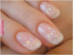 Want some ideas for wedding nail polish designs? This article is a collection of our favorite nail polish designs for your special day. Nail Polish, Nail Manicure, Gel Nails, Natural Wedding Nails, Natural Nails, Sparkly Nails, Glitter Nails, Glitter Wedding Nails, Nail Wedding