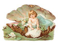 Glanzbilder - Victorian Die Cut - Victorian Scrap - Tube Victorienne - Glansbilleder - Pictures