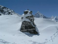 mount everest disaster |grave site for Scott Fischer of the 1996 disaster
