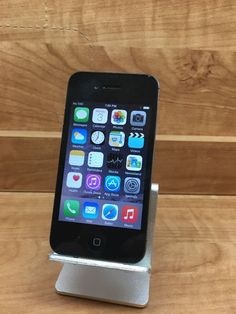 Apple iPhone 4s - 8GB - Black (UNLOCKED) Smartphone Item 6669   eBay