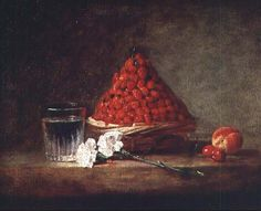 The French artist Jean-Baptiste-Siméon Chardin died on 6 December in 1779 at the age of 80. One of the greatest still life painters in the history of art, Chardin painted simple, mundane things and domestic interiors with a freshness and attention to light and composition much admired at the time and subsequently: Manet, Cezanne, Matisse and, later, Lucien Freud all looked to Chardin for inspiration.