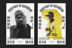 My name is — direction artistique & design graphique - Affiches