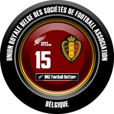 DNZ Football Buttons: Seleção da Bélgica