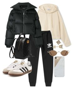 """""""Untitled #23117"""" by florencia95 ❤ liked on Polyvore featuring adidas, MISBHV, adidas Originals, Gucci and Native Union"""