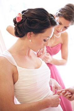#Weddinghair by Carolyn Clayton. Photo by Rachel Rose