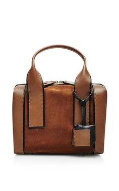 Leather and Suede Tote by Pierre Hardy - Moda Operandi