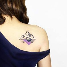 "Share Tweet Pin Mail If you've ever sat down and thought to yourself, ""I think I could really use a mountain tattoo,"" then you've ..."