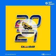 Desain Kalender PT. Indo Crane Pratama Crane, Projects To Try, Calendar