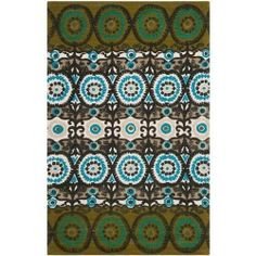 nice Safavieh CDR127B Cedar Brook Cotton Pile Hand Loomed Green/Teal Rug Check more at http://yorugs.com/shop/safavieh-cdr127b-cedar-brook-cotton-pile-hand-loomed-greenteal-rug/