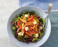 Turkey and Monterey Jack salad - Recipes Turkey Recipes, New Recipes, Salad Recipes, Carbs In Beer, Red Cabbage Salad, Healthy Living Recipes, Healthy Food, Recipe Tonight, Apples And Cheese