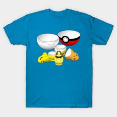 Pokemon in a matryoshka (Russian nesting doll) – Pokemon Go evolution from Pichu to Pikachu to Raichu, within a pokeball – buy this perfect mash-up for your favorite anime geek, video gamer, or Russian (even if it's you)