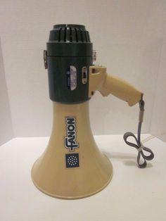 Fanon MV-16S Megaphone Fog Horn 20W 800 Yards Portable Tested PA #Fanon