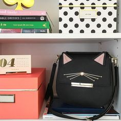 "6,904 curtidas, 89 comentários - kate spade new york (@katespadeny) no Instagram: ""a cat and byrdie never looked so good together."""
