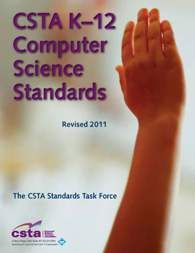 CSTA K-12 Computer Science Standards, cross-referenced with Common Core, Techie Club, others, as well as blank templates to create your own.