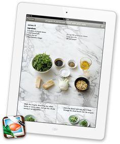 recipes for iPad
