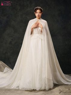 Cheap Wedding Jackets / Wrap, Buy Directly from China Suppliers:Bling Bling Sequins Wedding Boleros Shawls Wraps Luxurious Long Bridal Cape With Shiny Hat DQG1032 Enjoy ✓Free Shipping Worldwide! ✓Limited Time Sale✓Easy Return. Sequin Wedding, Wedding Jacket, Bridal Cape, Wedding Wraps, Cloak, Shawls And Wraps, Capes, Bling Bling, Wedding Events