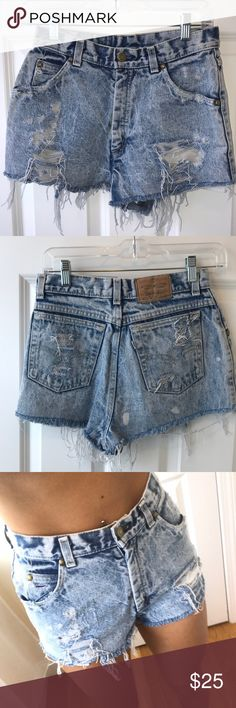 7403491d7b PRICE DROP Levi's Jean Shorts Levi ripped jean shorts from Urban  Outfitters. Says size 9 but realistically they're size 3 Levi's Shorts Jean  Shorts