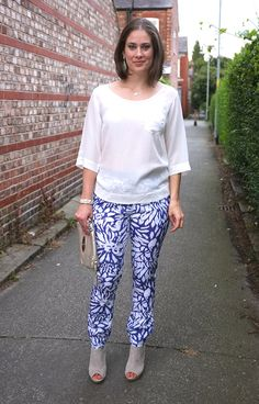 @Topshop printed trousers