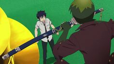 Blue Exorcist ~~ Amaimon toys with Rin's Blue Flame GIF [[ There are other Amaimon GIF's there, too. Have fun with the Earth King!! ]]