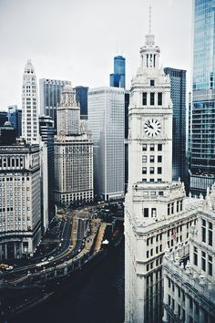 """Chicago, Illinois -- We spent the day in the """"WINDY CITY"""" with our married children. Chicago is a beautiful city. Oh The Places You'll Go, Places To Travel, Places To Visit, Travel Destinations, Beautiful World, Beautiful Places, Beautiful Castles, Beautiful Beautiful, Amazing Places"""