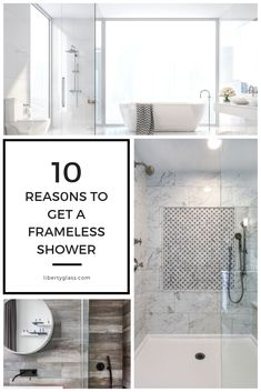 The current trend in bathroom design favors a clean, contemporary approach. Frameless Shower Enclosures, Contemporary, Modern, Minimalism, Favors, House Design, Bathroom, Mirror, Glass