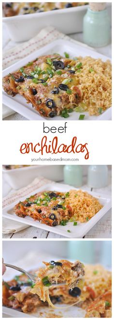 Beef Enchiladas will be a family favorite for sure!