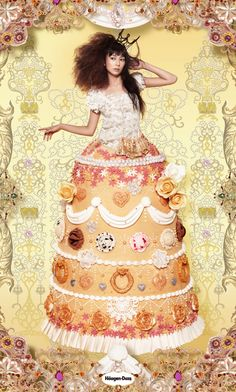 Cake queen.