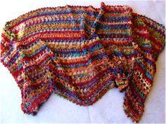 Art Threads: Happy 2012! Lacy Shawl