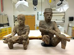 Two Mbembe statues reunited just in time for Valentine's Day | Bruno Claessens