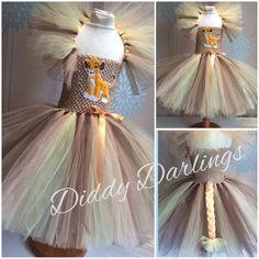 Lion King Tutu Dress. Simba Tutu Dress. Inspired by DiddyDarlings
