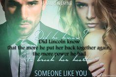 Someone like You (Oxford, 3)  by Lauren Layne #DirtyGirlRomance