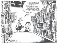 Nettet har mye å by på, men det har også biblioteket!