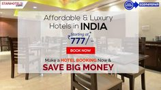 Online Hotels Booking in India for Budget & Luxury at STARiHOTELS.