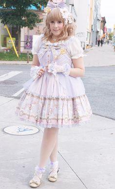 KawaiiBox.com ❤ The Cutest Subscription Box — cadney:   I got to wear @girlyhoot's lavender Day...