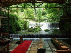栃喜久 川床 via Amadeusの「京都のおすすめ」 ブログ版(観光)