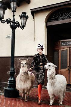 Fashiontography: Stella Tennant by Mario Testino   El Dorado