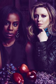 Crazy Eyes and Nikki: Uzo Aduba and Natasha Lyonne