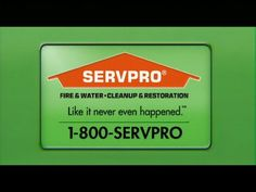 SERVPRO® TV - Frightened Water Call us directly 336-677-1415 when water invades your life.