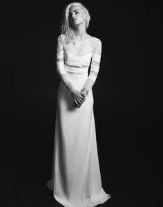 French Designer Wedding Dresses: Rime Arodaky 2015 see more at http://www.wantthatwedding.co.uk/2015/01/27/french-designer-wedding-dresses-rime-arodaky-2015/