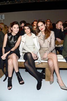 Los VIP del Milan Fashion Week Otono Invierno 2013 - Virginie Ledoyen, Miroslava Duma y Carolina Gawronski