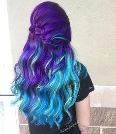 "13.5 mil Me gusta, 73 comentarios - Pulp Riot Hair Color (@pulpriothair) en Instagram: ""@stephdoeshair1 is the artist... Pulp Riot is the lightener and paint."""