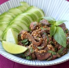 Salade de boeuf thaï - Cuisine du monde - Pure Saveurs