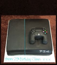 Playstation 4 Birthday Cake 4th Cakes 10th Parties 13th Boy
