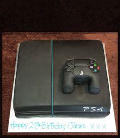 Playstation 4 Birthday Cake