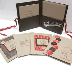 Boxed Card Set--Insdie by luv2stamp50 - Cards and Paper Crafts at Splitcoaststampers